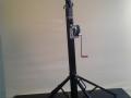 teleskopický jeřábek k osvětlovací rampě, pronájem Štefek
