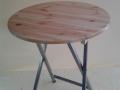 bistrostolek, dřevěný povrch, standby stolek, pronájem Štefek