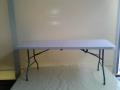 obdélníkový stůl, hranatý, 182 x 76 cm, pronájem Štefek