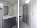 interiér luxusní mobilní splachovací toalety, sanitární přívěs XL, pronájem Štefek