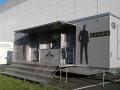 luxusní mobilní splachovací toalety XXL firemní akce Tescoma, pronájem Štefek