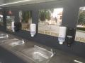 mobilní umyvadla na akce, dezinfekce, mýdla, utěrky, hygienické zařízení, přívěs, pronájem Štefek (4)